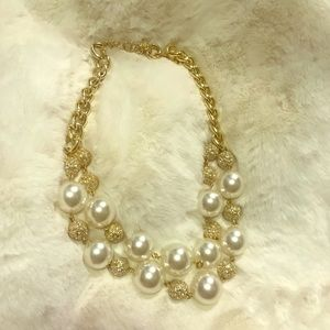 💗LILLY PULITZER On The Rocks Pearl Necklace
